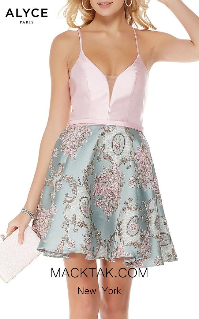 Alyce Paris 3777 Front Dress