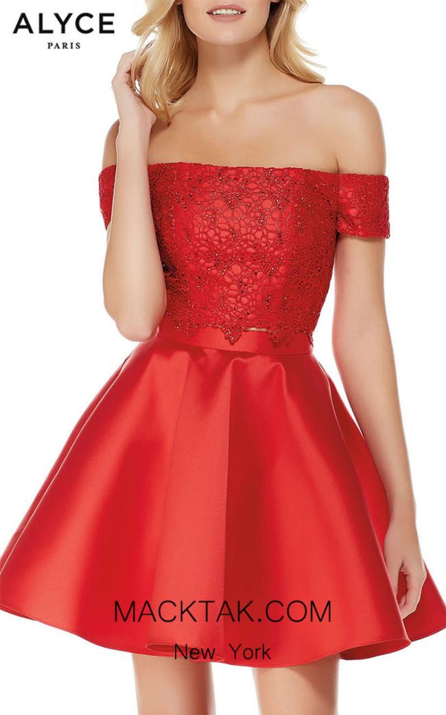 Alyce Paris 3795 Front Dress