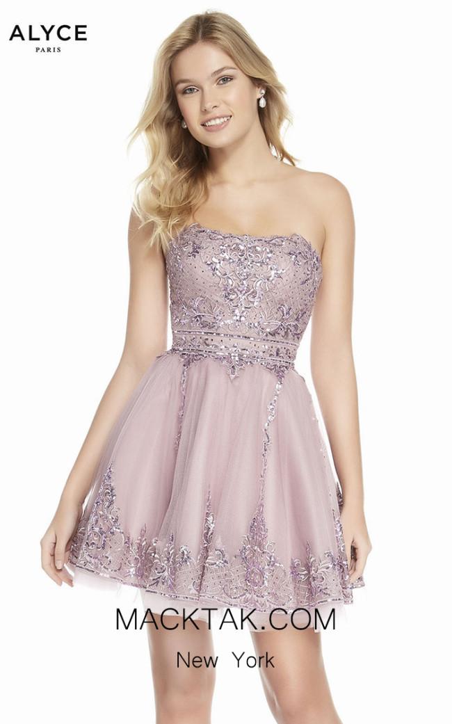 Alyce Paris 3841 Front Dress