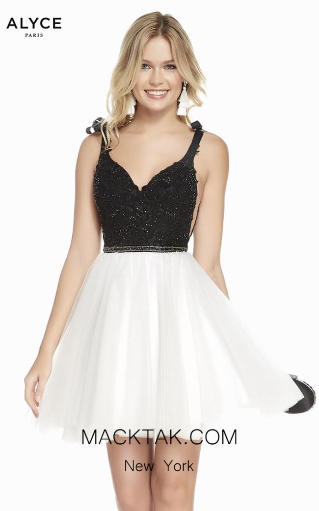 Alyce Paris 3843 Front Dress