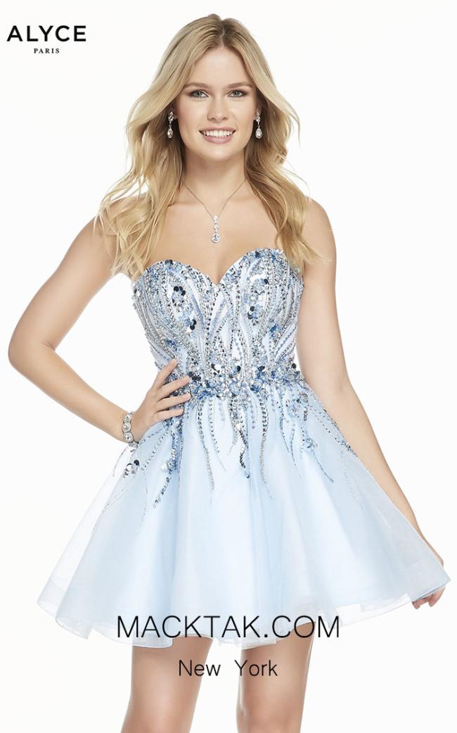 Alyce Paris 3857 Front Dress