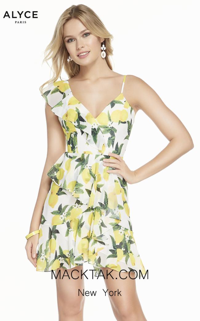 Alyce Paris 3869 Front Dress