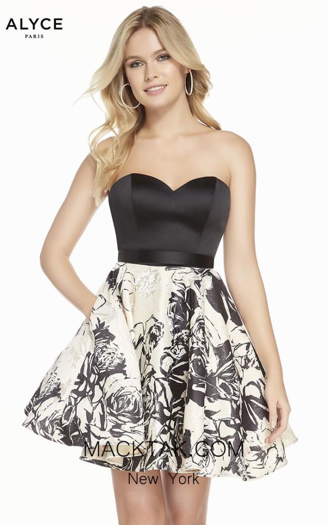 Alyce Paris 3898 Front Dress