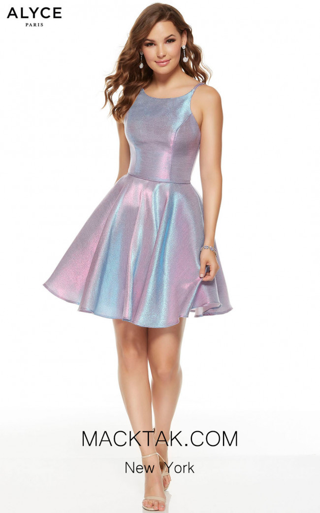 Alyce Paris 3923 Unicorn Front Dress