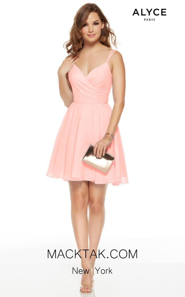 Alyce Paris 3936 Blush Front Dress