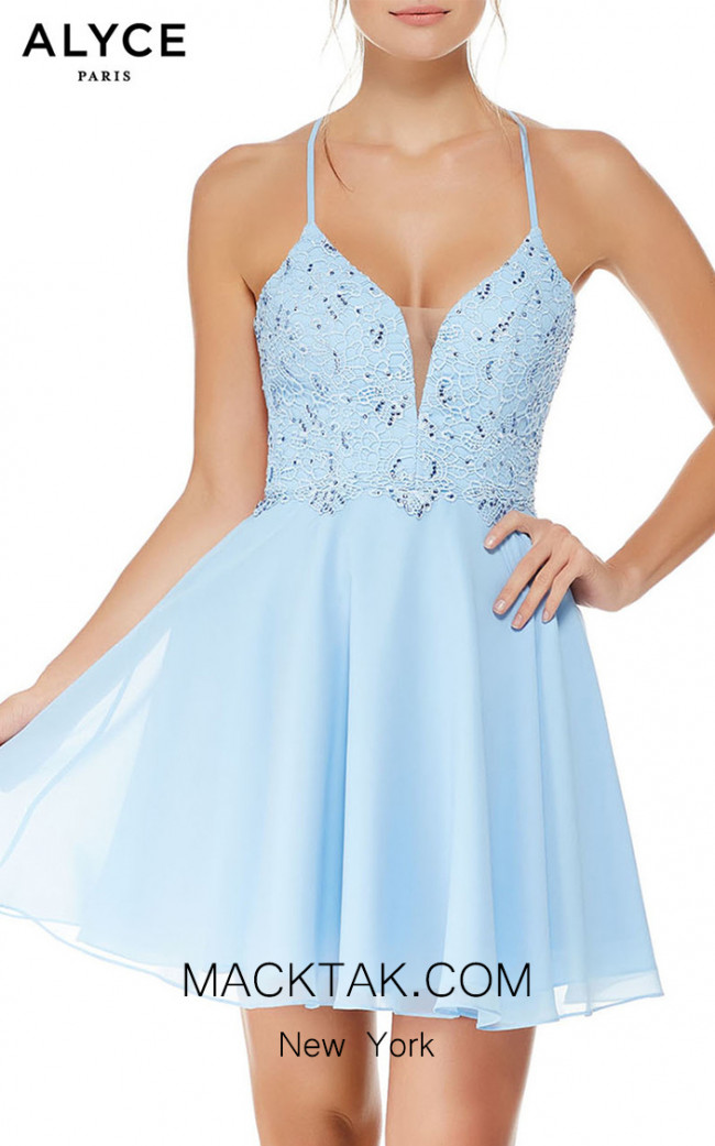 Alyce Paris 4049 Front Dress