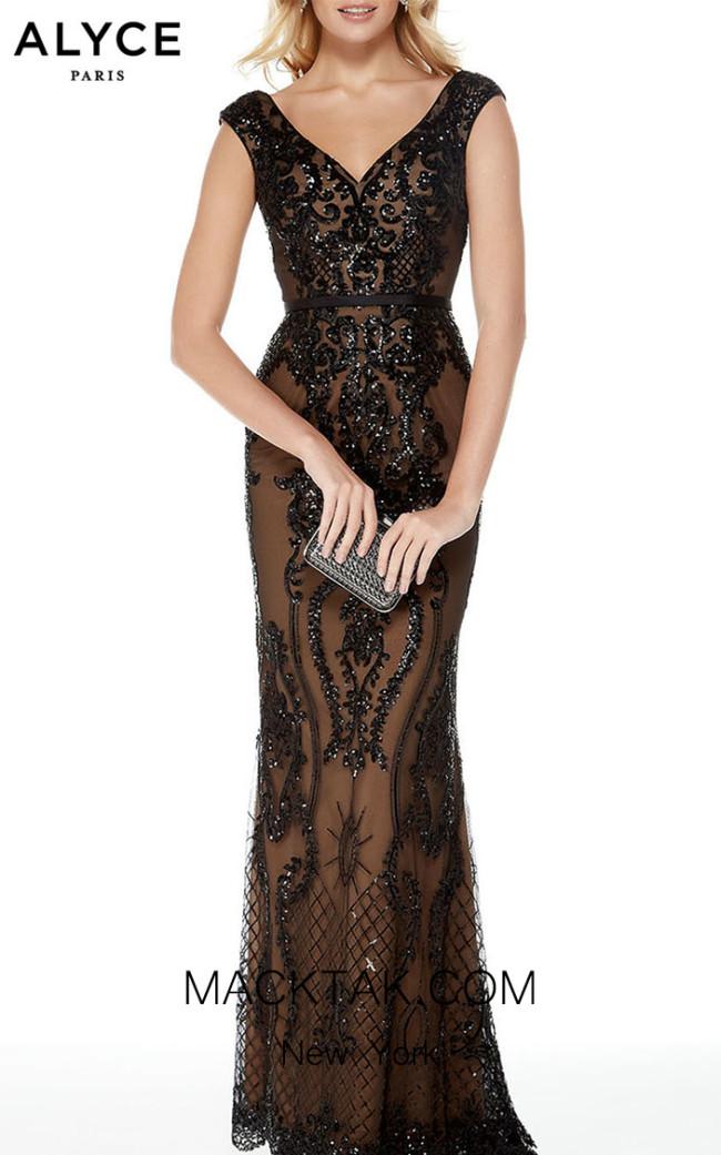 Alyce Paris 5006 Front Dress