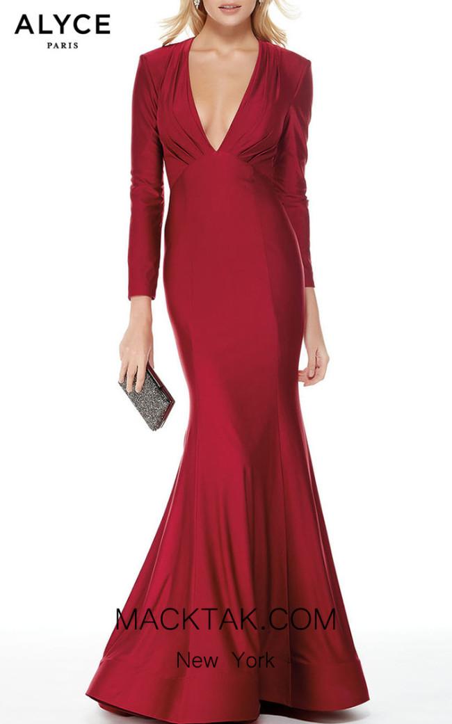 Alyce Paris 5025 Front Dress