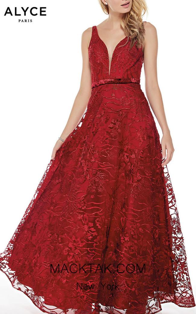 Alyce Paris 5028 Front Dress