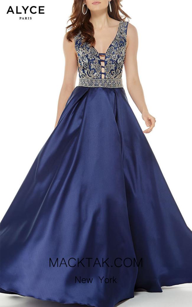 Alyce Paris 5043 Front Dress