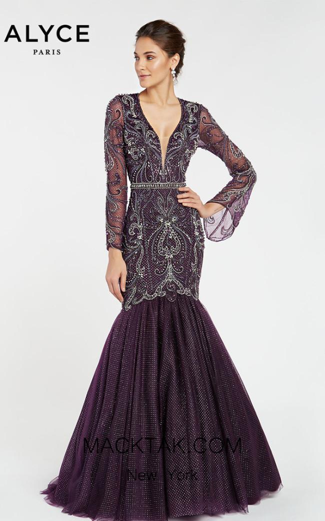 Alyce Paris 5061 Front Dress