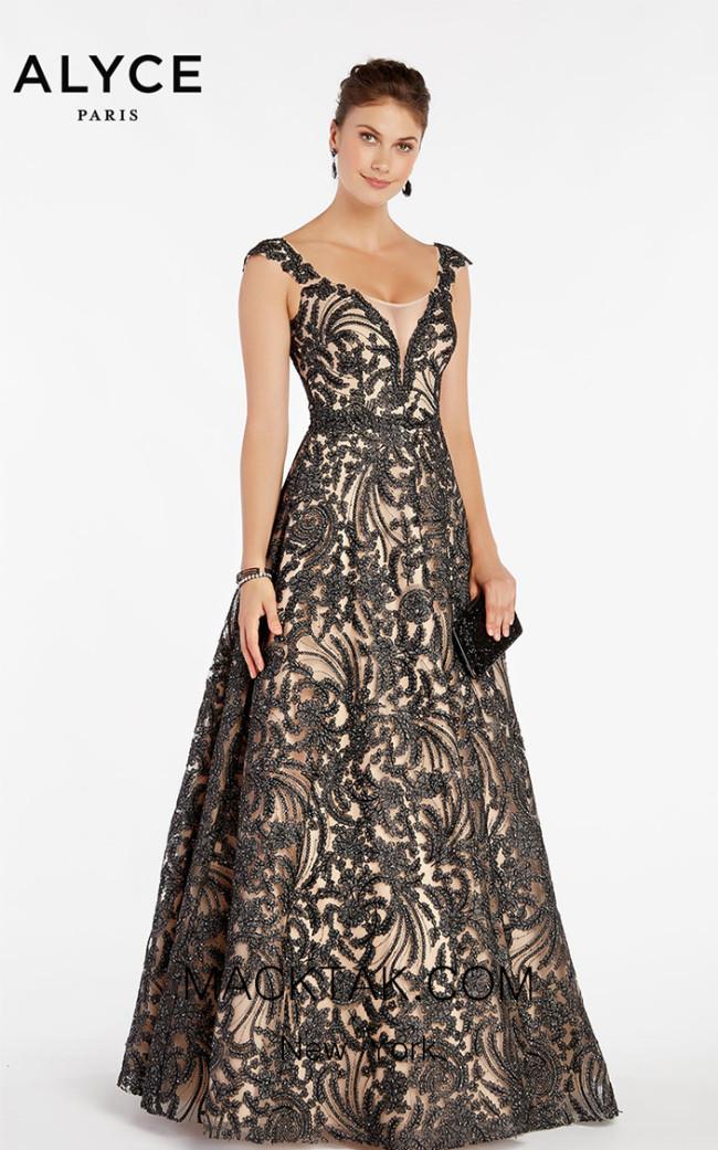 Alyce Paris 5064 Front Dress