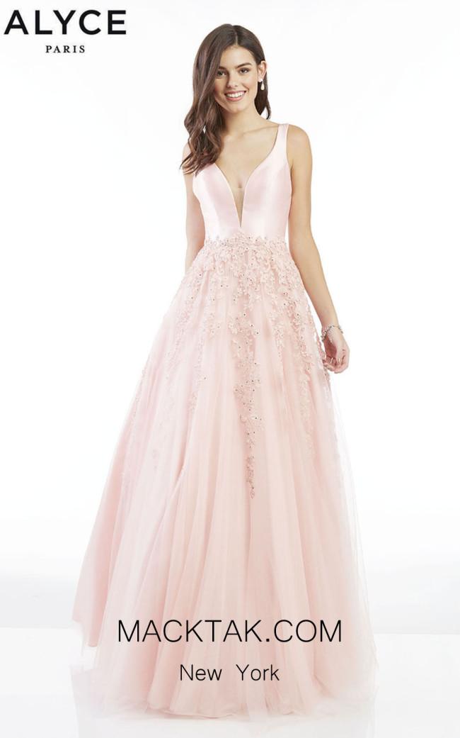Alyce Paris 60357 Blush Front Dress