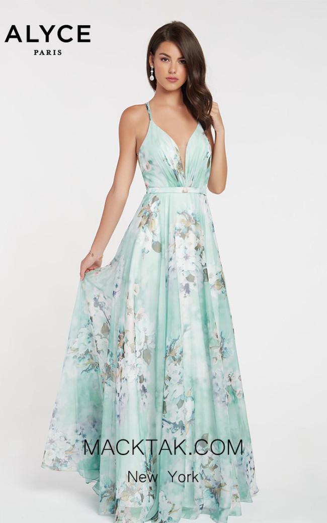 Alyce Paris 60440 Honeydew Front Dress