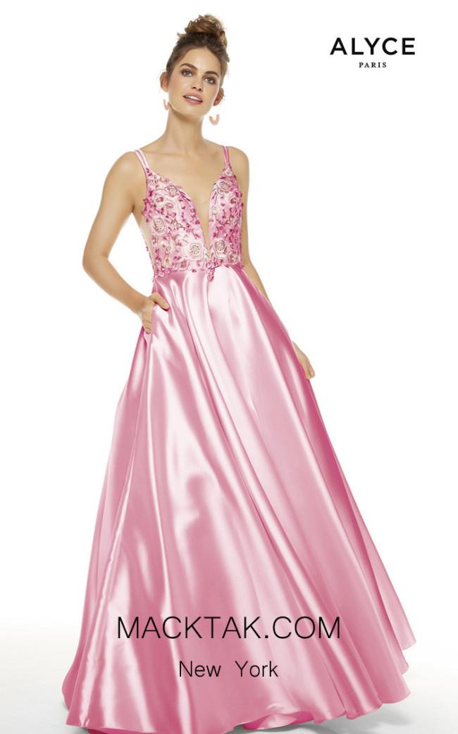 Alyce Paris 60504 Mauve Front Dress