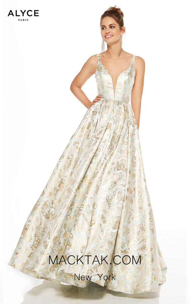 Alyce Paris 60611 Hush Front Dress