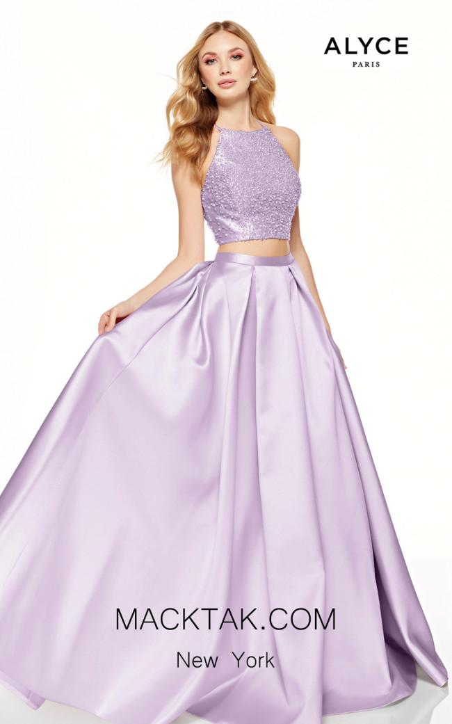Alyce Paris 60620 Ice Lilac Front Dress