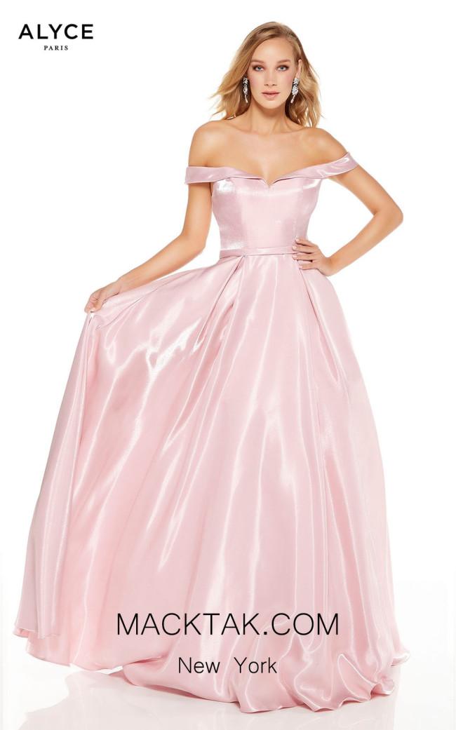 Alyce Paris 60627 Light Mauve Front Dress