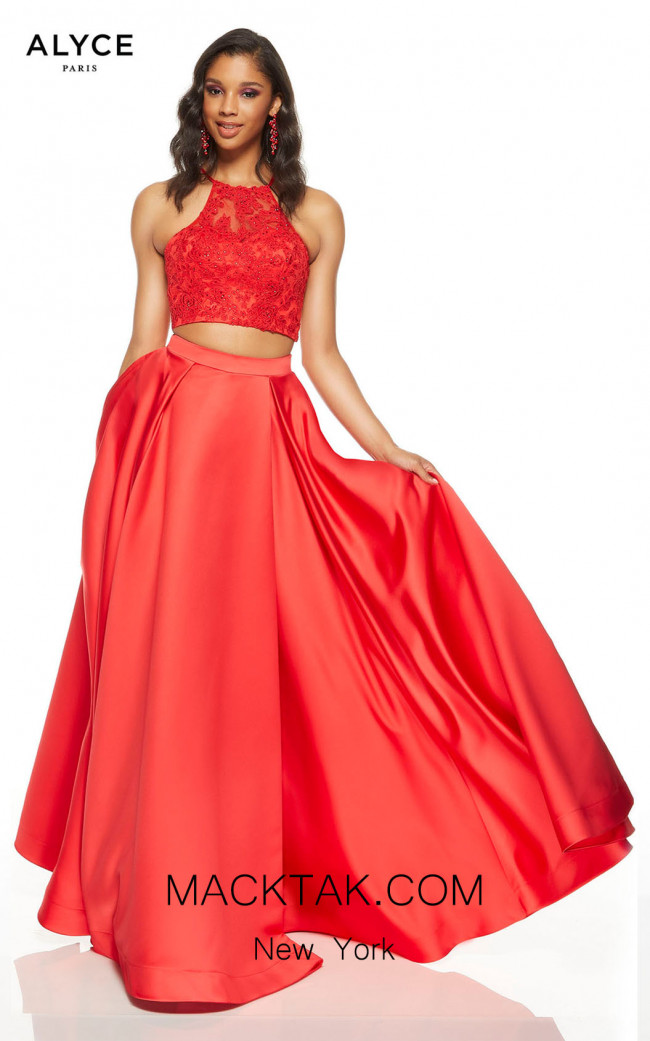 Alyce Paris 60634 Red Front Dress