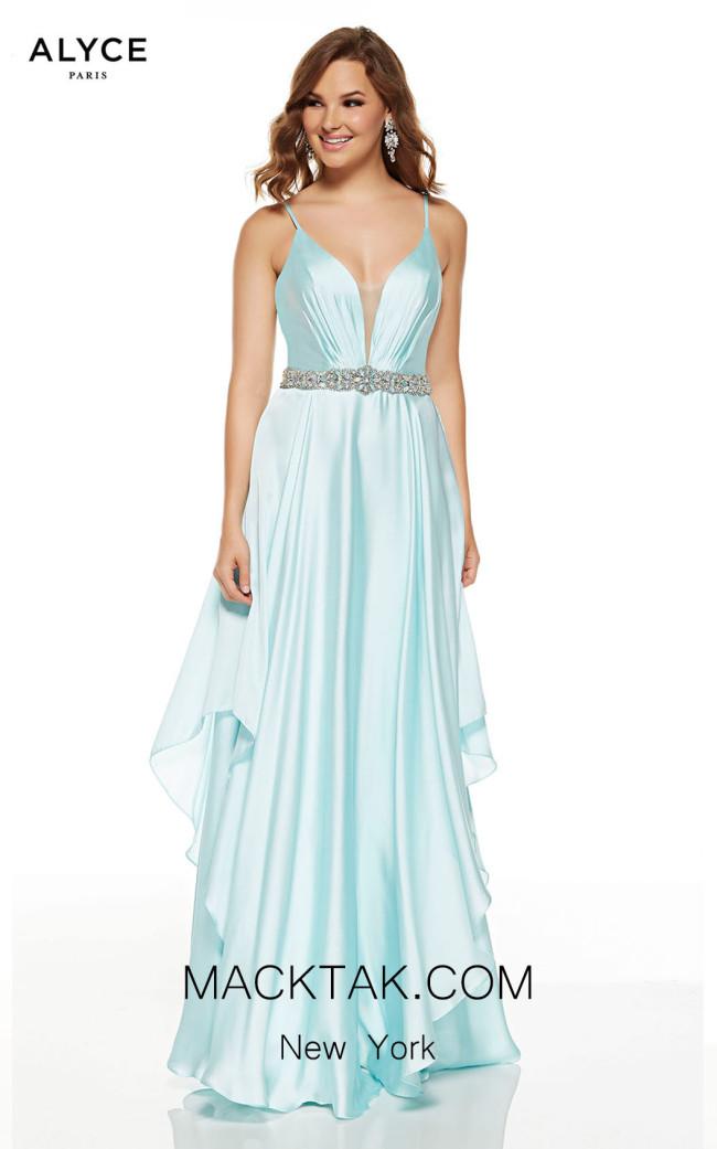 Alyce Paris 60641 Sea Glass Front Dress