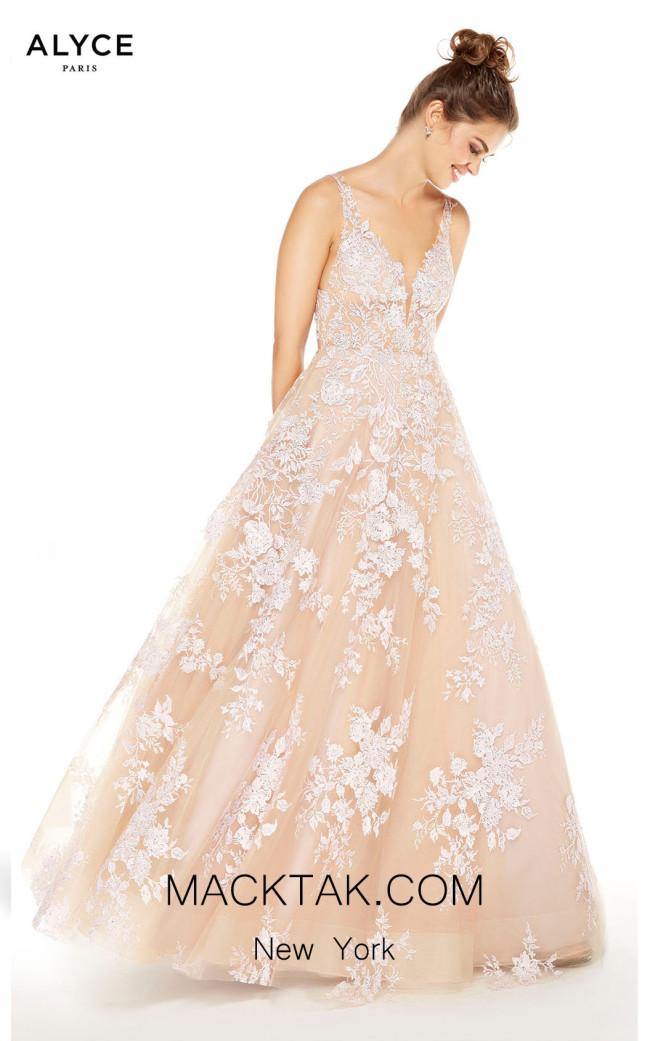 Alyce Paris 60648 Cashmere Rose Front Dress