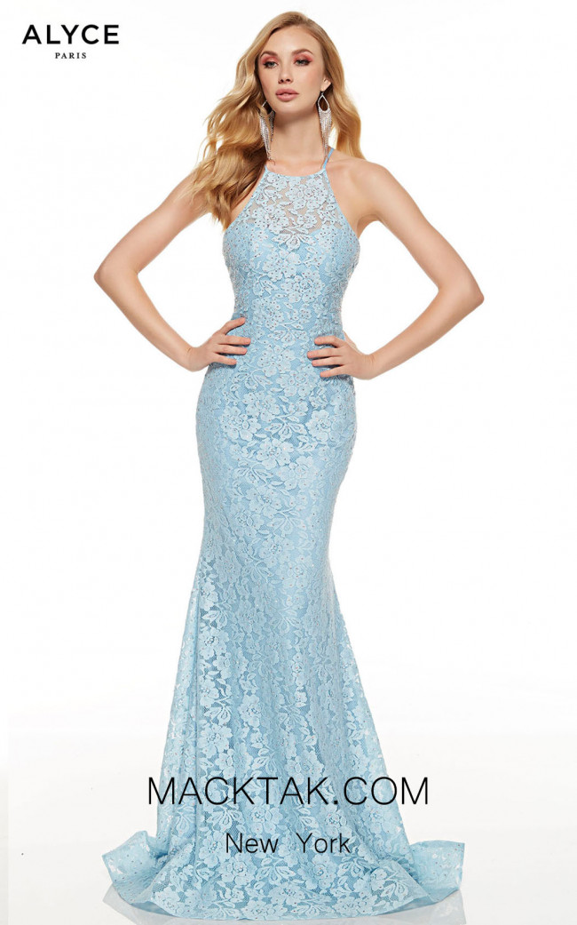 Alyce Paris 60655 Glacier Blue Front Dress