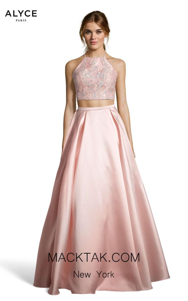 Alyce Paris 60664 Rose Water Front Dress