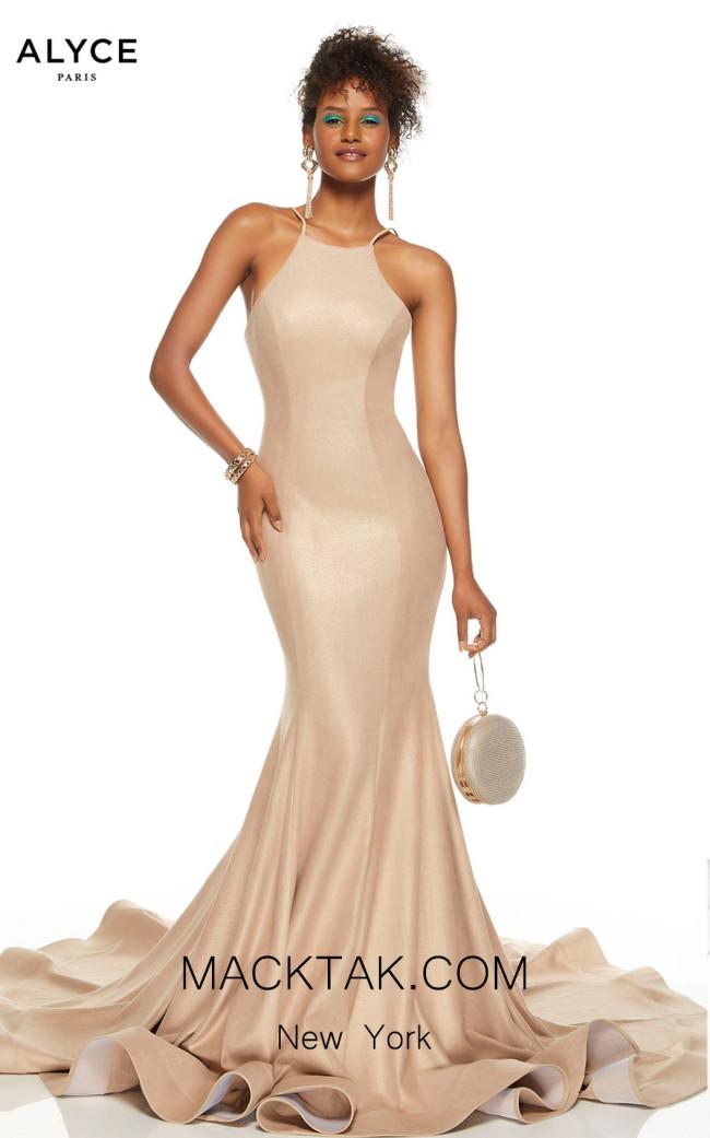 Alyce Paris 60690 Sand Front Dress