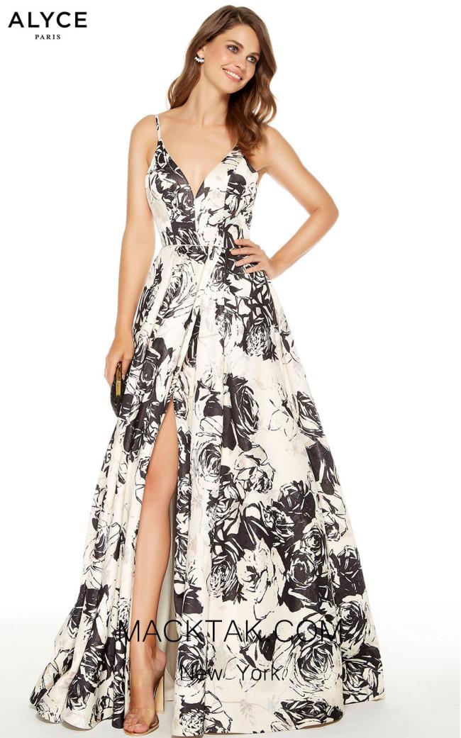 Alyce Paris 60710 French Vanilla Front Dress
