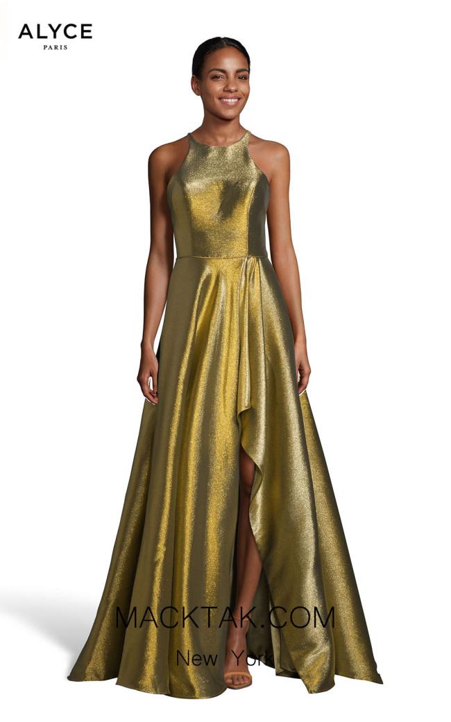 Alyce Paris 60714 Antique Gold Front Dress
