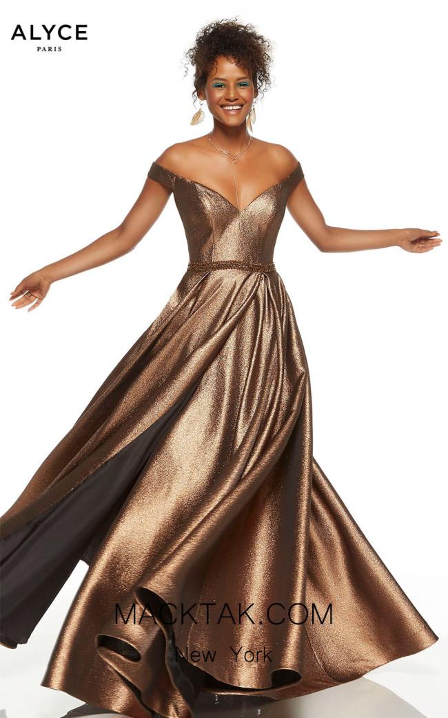 Alyce Paris 60718 Bronze Front Dress
