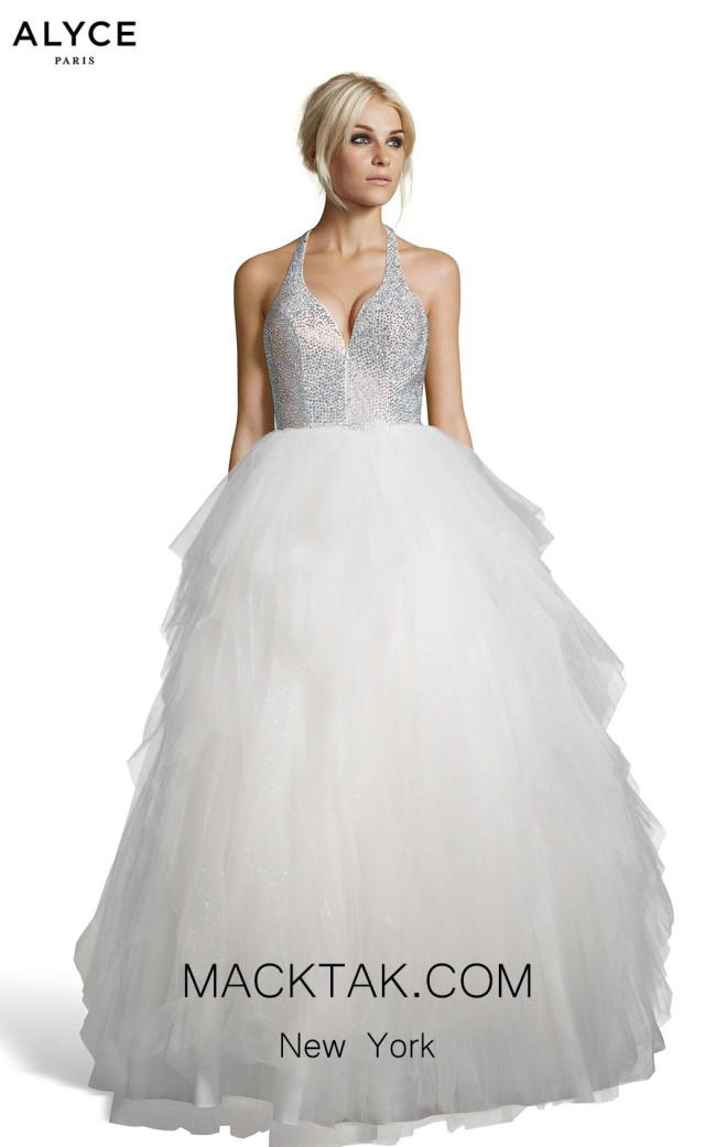 Alyce Paris 60749 Opal Front Dress