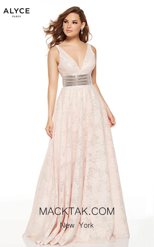 Alyce Paris 60757 Blush Front Dress
