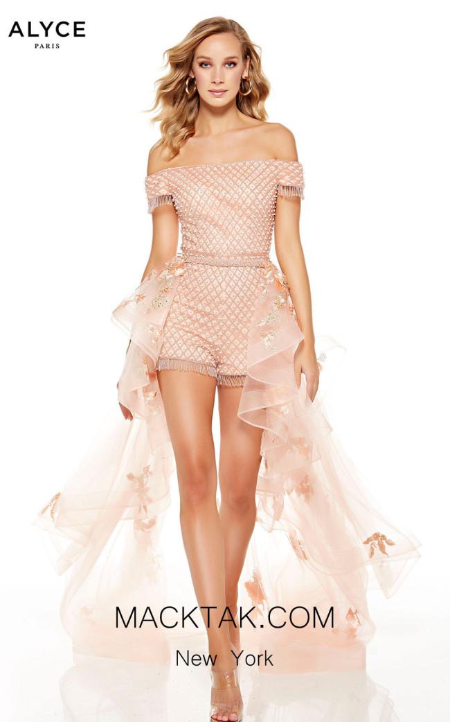 Alyce Paris 60759 Blush Front Dress