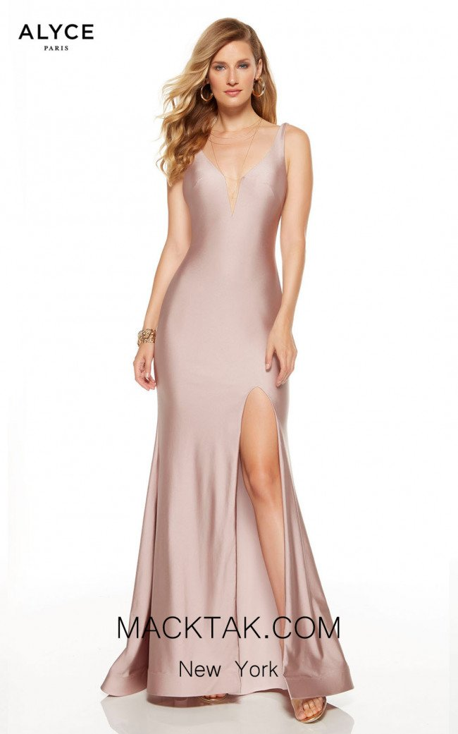Alyce Paris 60765 Cashmere Rose Front Dress