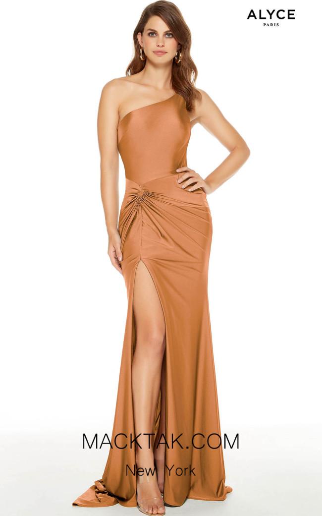 Alyce Paris 60768 Honey Front Dress