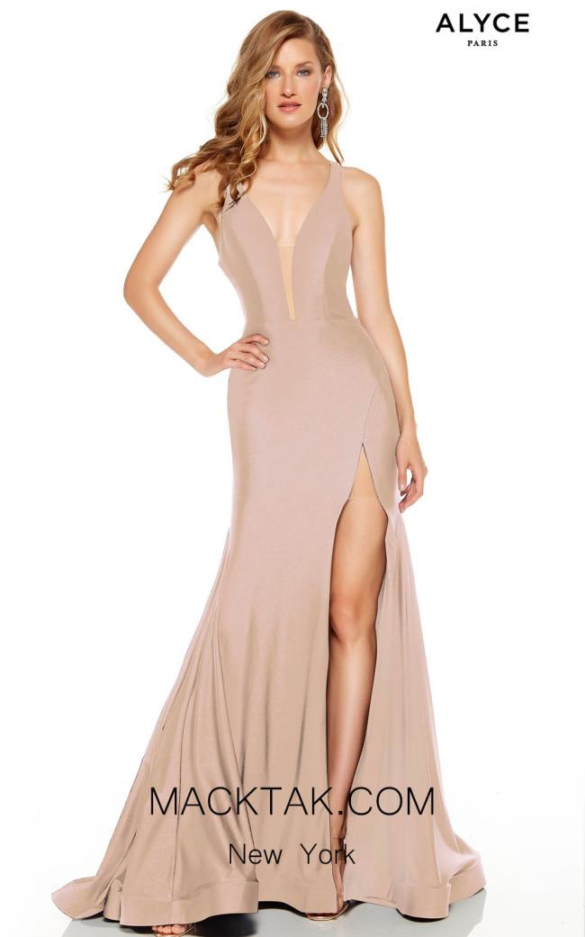 Alyce Paris 60769 Cashmere Rose Front Dress