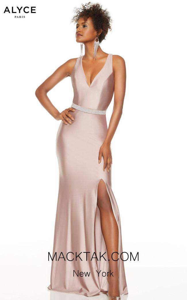 Alyce Paris 60771 Cashmere Rose Front Dress