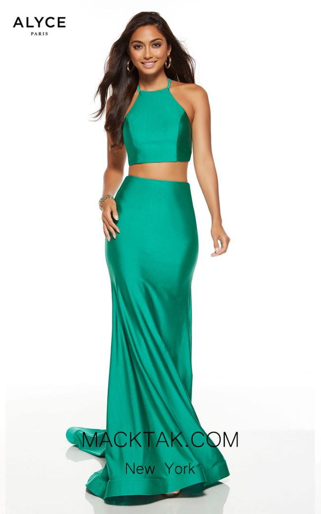 Alyce Paris 60772 Emerald Front Dress