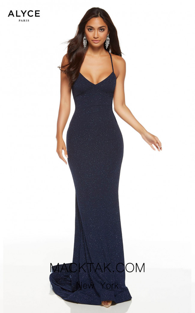 Alyce Paris 60796 Midnight Front Dress
