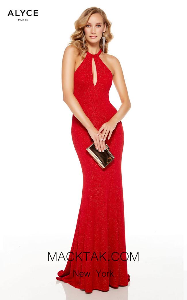 Alyce Paris 60797 Red Font Dress