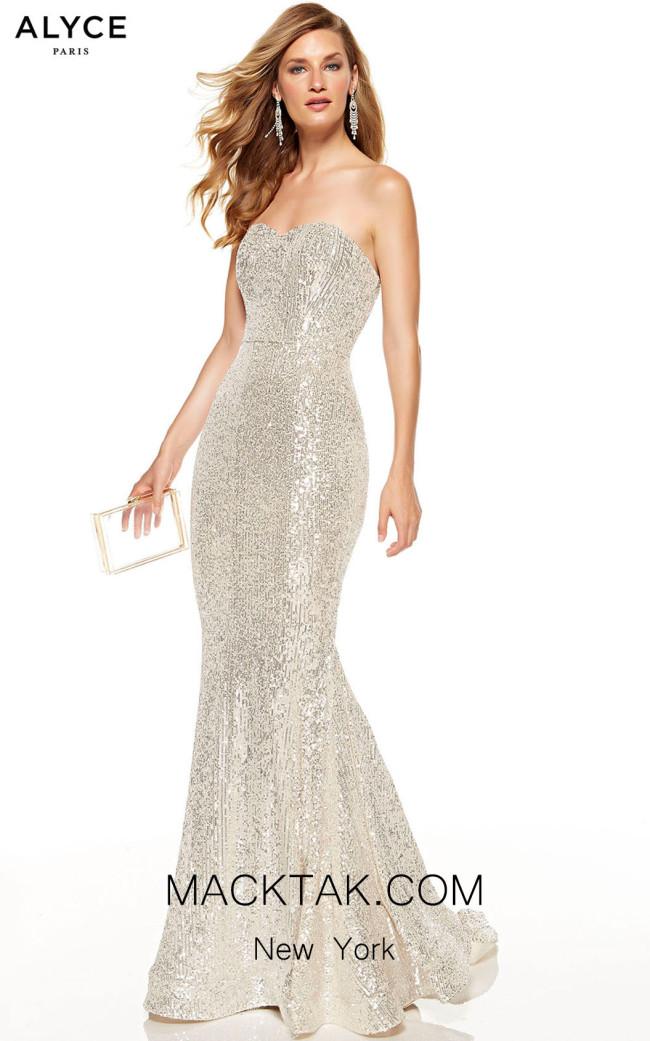 Alyce Paris 60809 Sand Front Dress