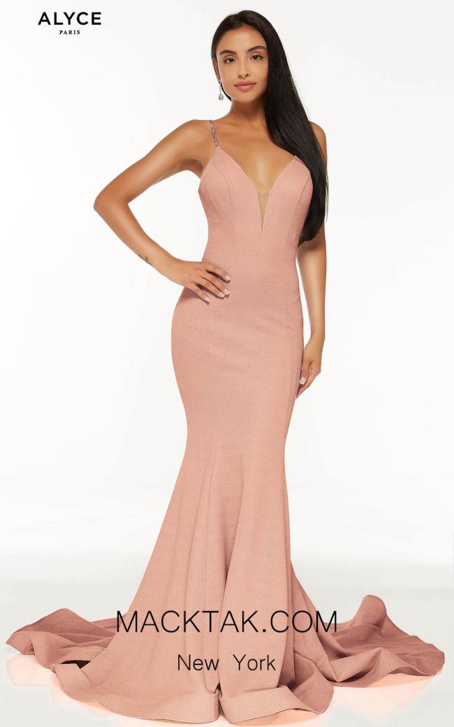 Alyce Paris 60865 Rose Wood Front Dress