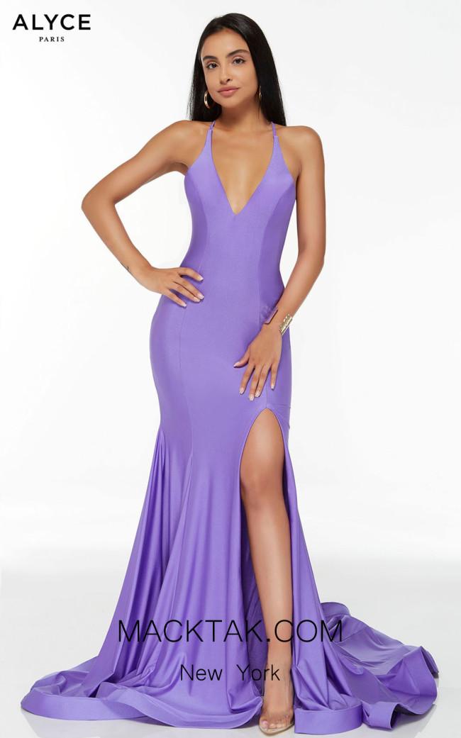 Alyce Paris 60866 Violet Front Dress