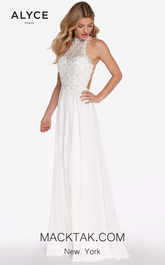 Alyce 60061 Diamond White Front