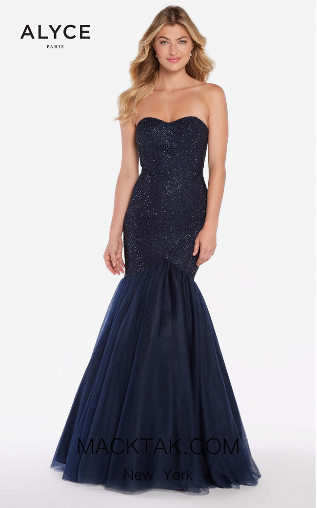 Alyce 60159 Navy Front