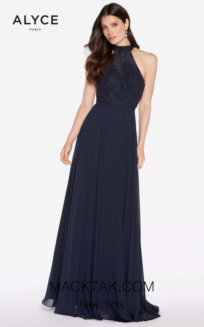 Alyce 60160 Navy Front