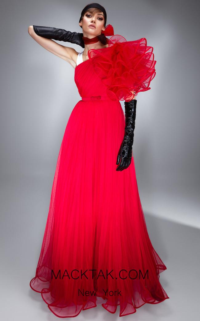Ana Radu AR007 Red Front Dress