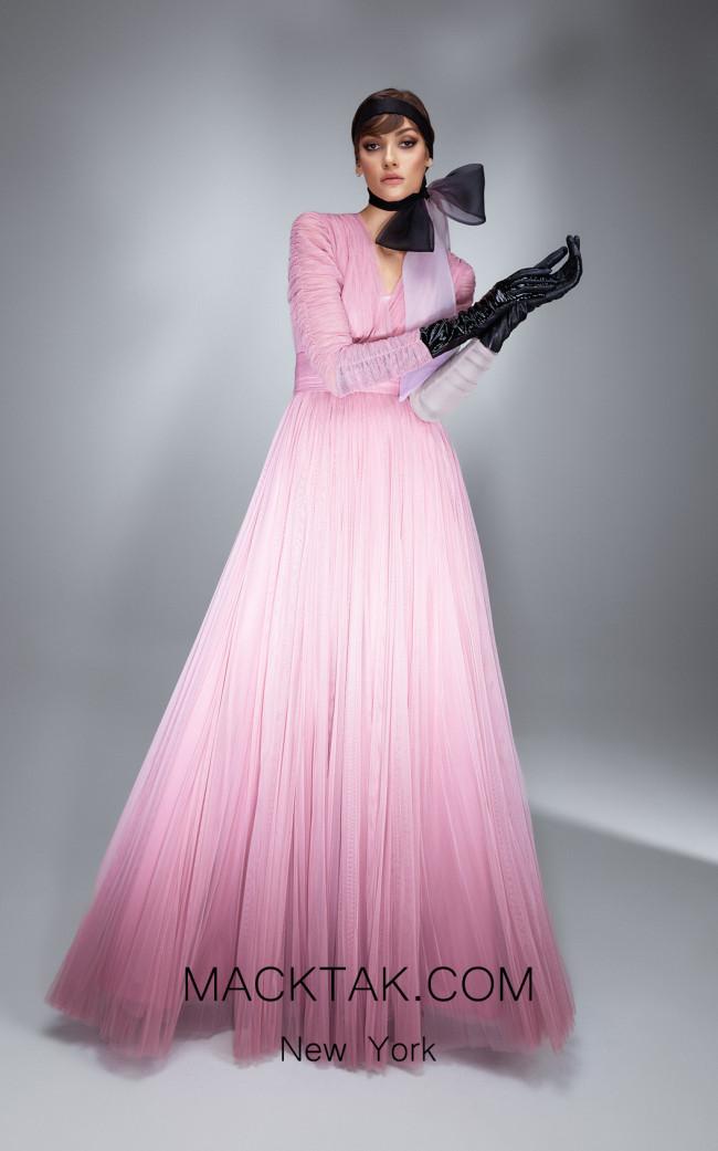 Ana Radu AR014 Pink Front Dress