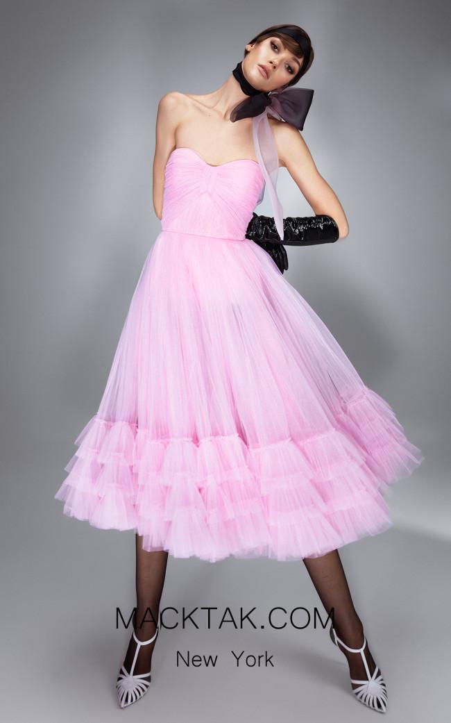 Ana Radu AR016 Pink Front Dress